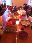 Thanksgiving spread